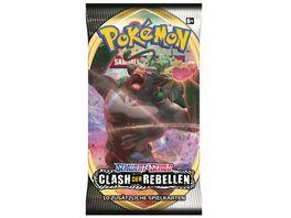 Pokemon Sammelkartenspiel Schwert Schild Clash der Rebellen 1 Boosterpack