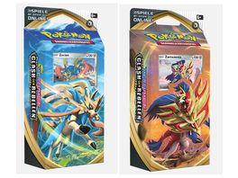 Pokemon Sammelkartenspiel Schwert Schild Clash der Rebellen Themendeck 1 Stueck sortiert