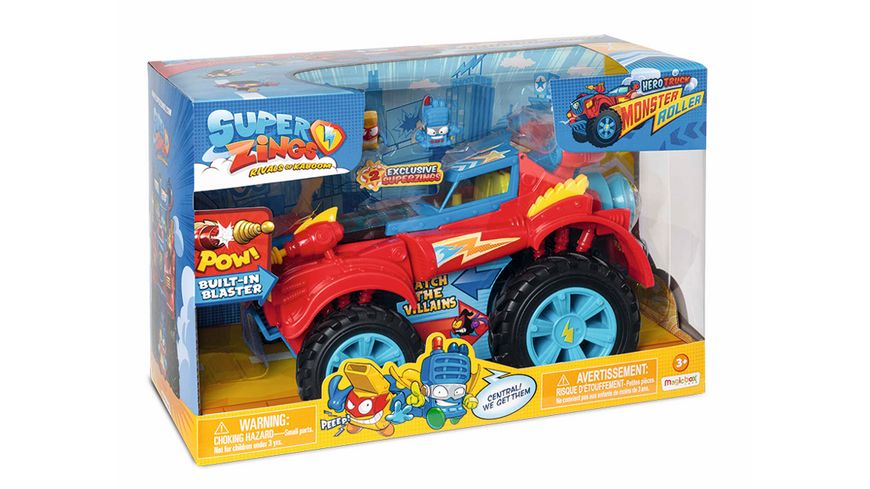 SuperZings - Hero Monsterroller-Truck
