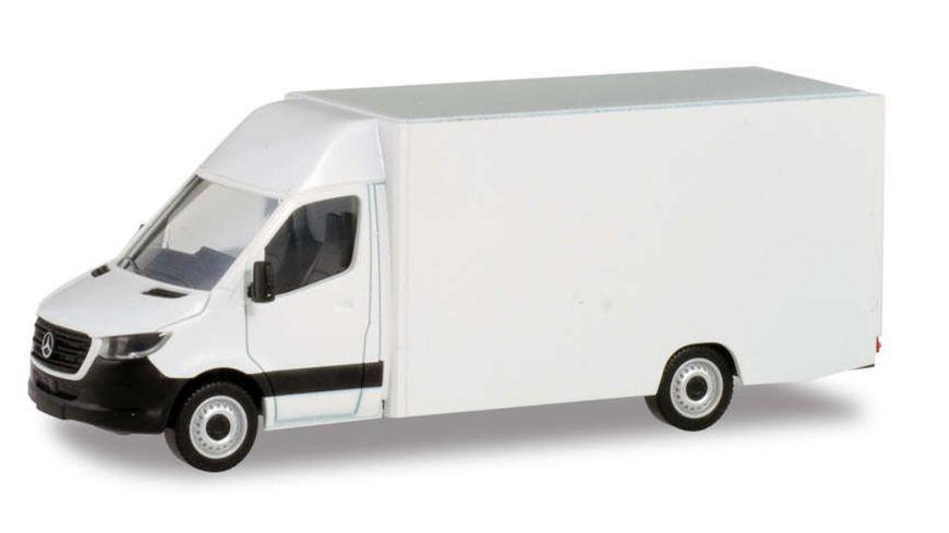 Herpa 013741 Minikit Mercedes Benz Sprinter 18 Paketverteilerfahrzeug