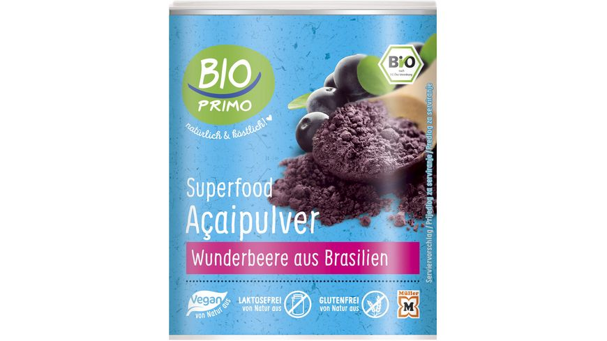 BIO PRIMO Superfood Acaipulver