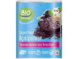 BIO PRIMO Superfood Acaipulver