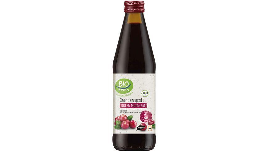 BIO PRIMO Cranberry Muttersaft