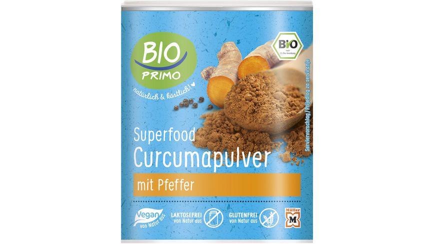 BIO PRIMO Superfood Curcuma Pulver