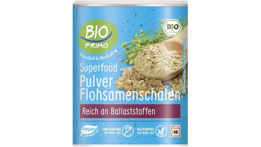 BIO PRIMO Superfood Flosamenschalen-Pulver