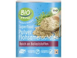 BIO PRIMO Superfood Flosamenschalen Pulver