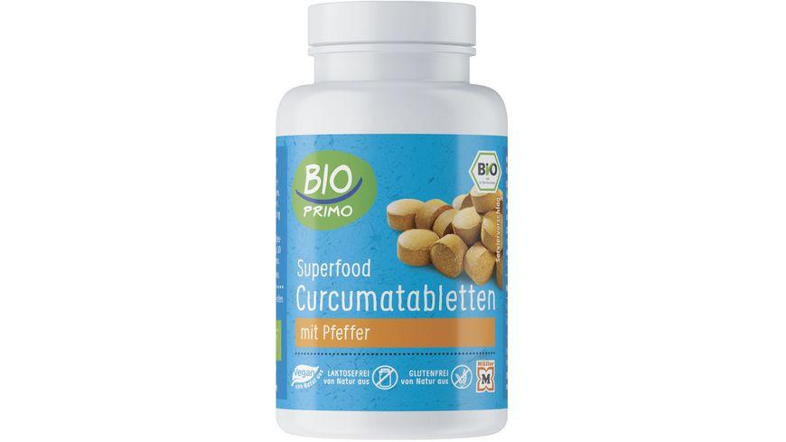 BIO PRIMO Superfood, Curcumatabletten