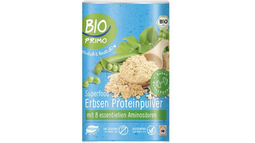 BIO PRIMO Superfood Erbsen-Proteinpulver