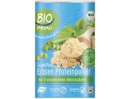 BIO PRIMO Superfood Erbsen Proteinpulver
