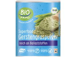 BIO PRIMO Superfood Gerstengras Pulver
