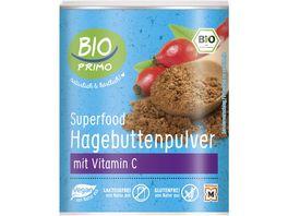BIO PRIMO Superfood Hagebutten Pulver