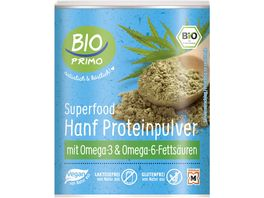 BIO PRIMO Superfood Hanf Proteinpulver