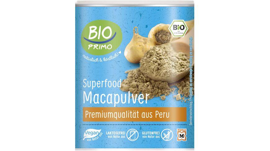 BIO PRIMO Superfood Maca Pulver