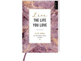 myNOTES Bullet Journal A5 Live the life you love blanko