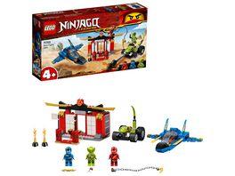 LEGO Ninjago 71703 Kraeftemessen mit dem Donner Jet