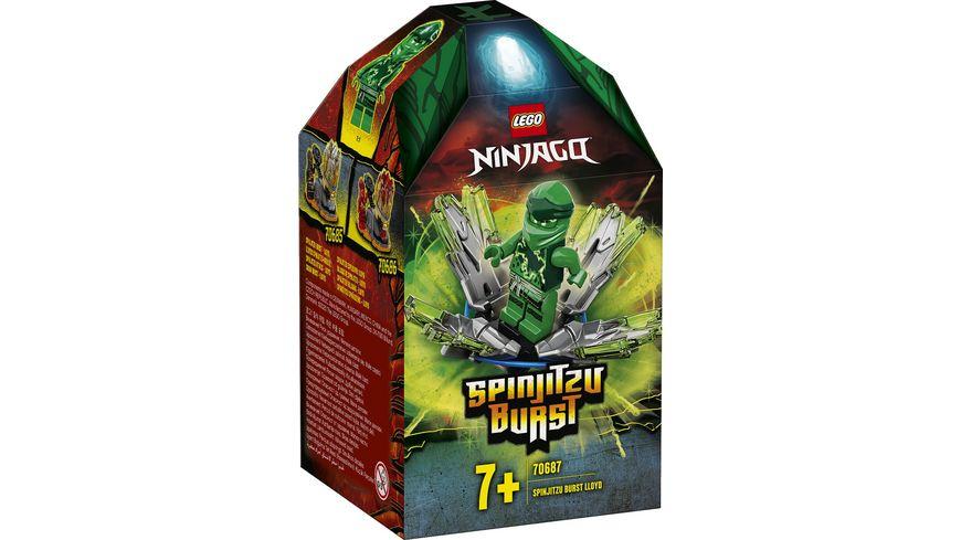 LEGO Ninjago 70687 Lloyds Spinjitzu Kreisel