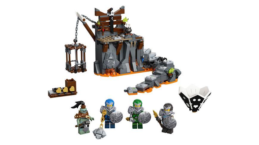 LEGO Ninjago 71717 Reise zu den Totenkopfverliesen
