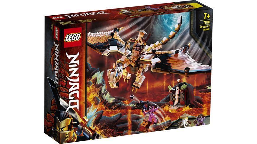 LEGO Ninjago 71718 Wus gefaehrlicher Drache