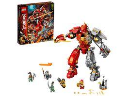 LEGO Ninjago 71720 Feuer Stein Mech