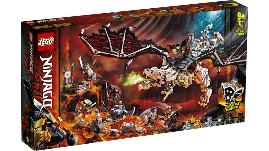 LEGO Ninjago 71721 Drache des Totenkopfmagiers