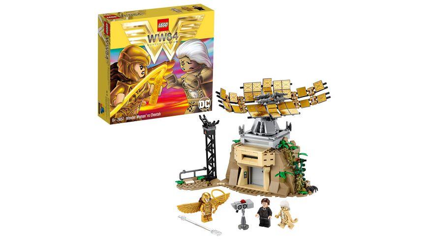 LEGO DC Comics Super Heroes - 76157 Wonder Woman™ vs Cheetah™