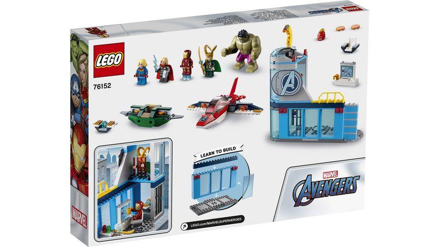 LEGO Marvel Super Heroes 76152 Avengers Lokis Rache