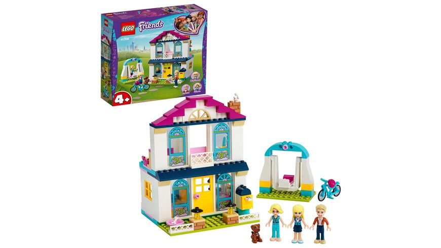 LEGO Friends 41398 4 Stephanies Familienhaus