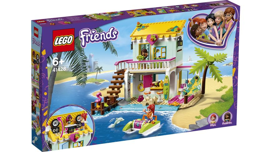 LEGO Friends 41428 Strandhaus mit Tretboot