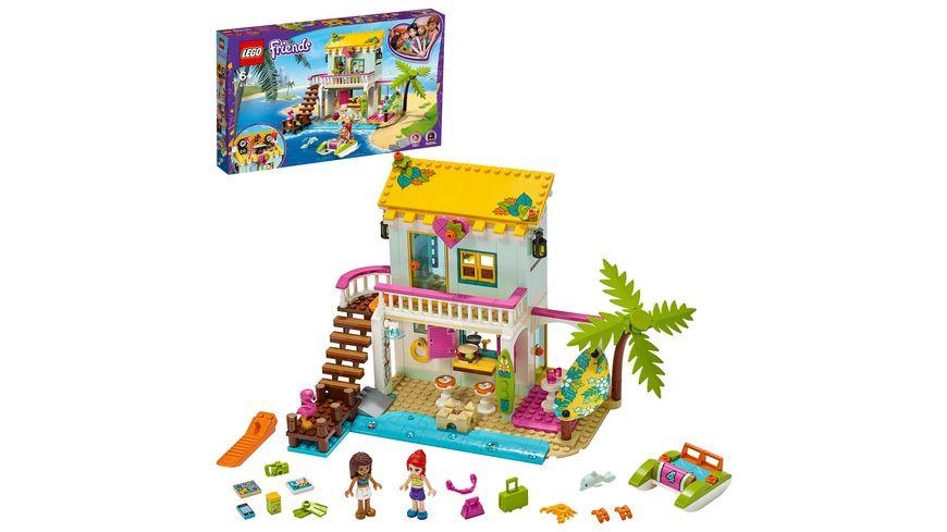 LEGO Friends - 41428 Strandhaus mit Tretboot