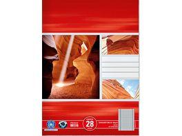 Heft A4 Lineatur 28 60Blatt