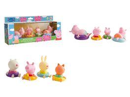 IMC Toys Peppa Pig Badefiguren 4 er Pack