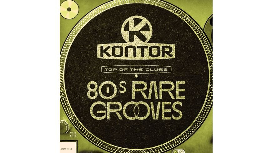 Kontor Top Of The Clubs 80s Rare Grooves