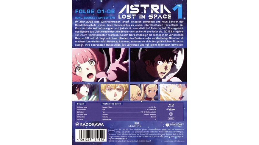 Astra Lost in Space Vol 1 Limited Edition
