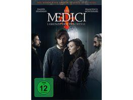 Die Medici Lorenzo der Praechtige Staffel 3 3 DVDs