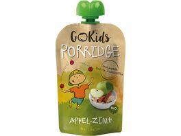 GoKids Porridge Apfel Zimt