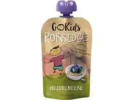 GoKids Porridge Heidelbeere