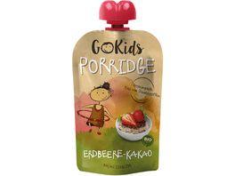 GoKids Porridge Erdbeere Kakao