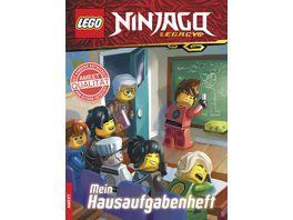 LEGO NINJAGO Mein Hausaufgabenheft