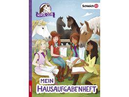 SCHLEICH Horse Club Mein Hausaufgabenheft