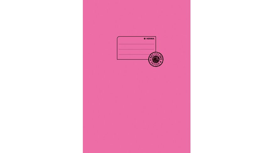 HERMA Hefthülle A4 aus Papier pink