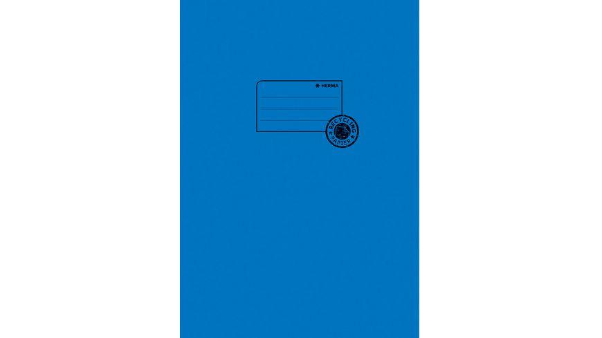 HERMA Hefthuelle A4 aus Papier blau