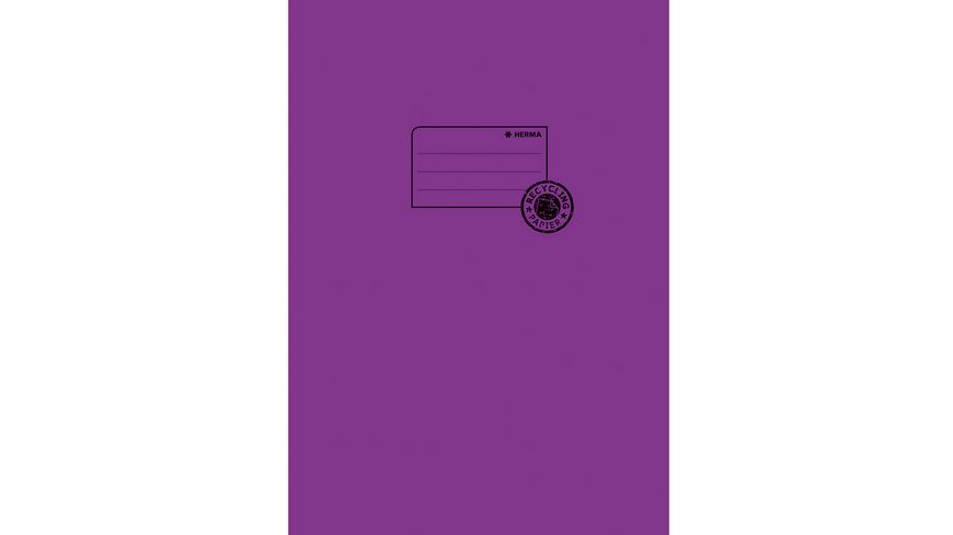 HERMA Hefthülle A4 aus Papier violett