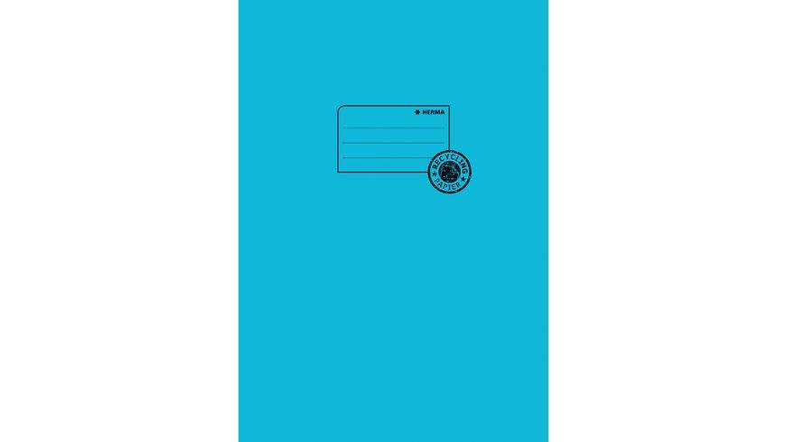 HERMA Hefthülle A4 aus Papier türkis