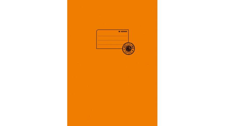 HERMA Hefthülle A4 aus Papier orange