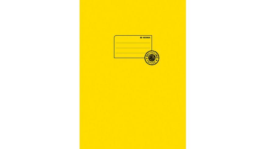 HERMA Hefthülle A4 aus Papier gelb