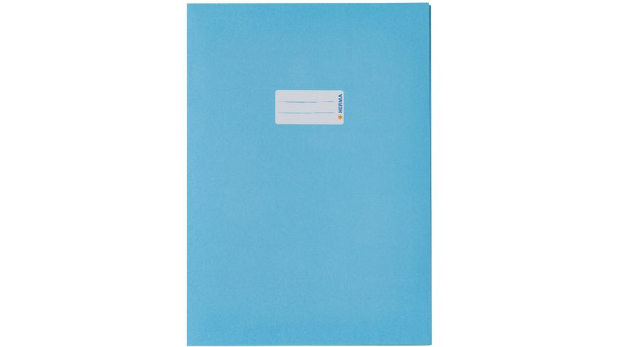 HERMA Hefthülle A4 aus Papier hellblau