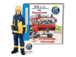 tonies Hoerfigur fuer die Toniebox Wieso Weshalb Warum Junior Die Feuerwehr Die Rettungsfahrzeuge