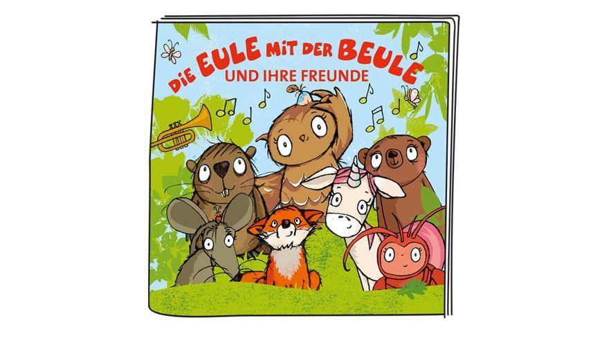 tonies Hoerfigur fuer die Toniebox Die Eule mit der Beule und ihre Freunde Liederalbum