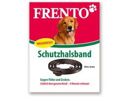 Frento Schutzhalsband fuer Hunde 60 cm