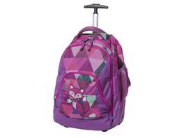 WALKER Trolleyrucksack Frieda the Fox Violet